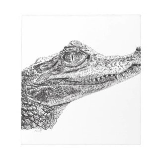 Baby Crocodile Ink Drawing Notepad