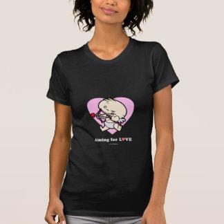 Baby Cupid Aiming For Love Dark Shirts
