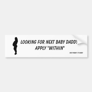Baby Daddy Bumper Sticker