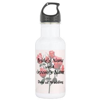 Baby Dark Pink Roses 532 Ml Water Bottle