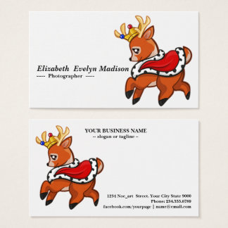 Baby deer 098 business card