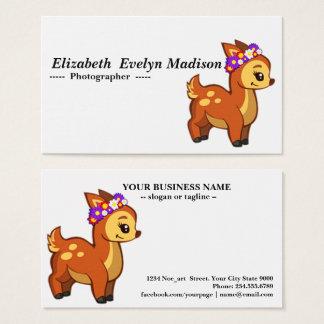 Baby deer 099 business card