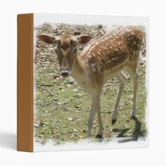 Baby Deer Binder