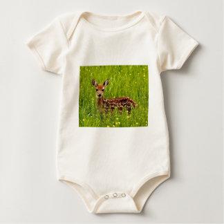 Baby Deer Fawn Baby Bodysuit
