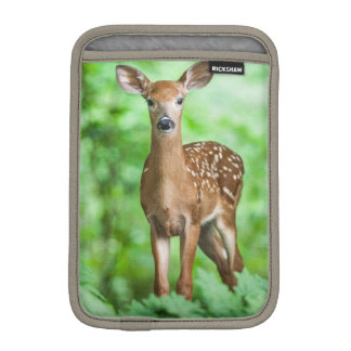 Baby Deer Fawn in the Forest iPad Mini Sleeve
