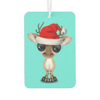 Baby Deer Wearing a Santa Hat Air Freshener