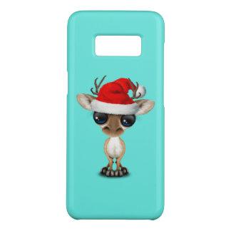 Baby Deer Wearing a Santa Hat Case-Mate Samsung Galaxy S8 Case