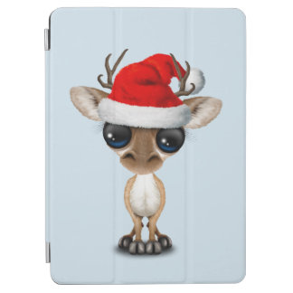 Baby Deer Wearing a Santa Hat iPad Air Cover