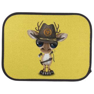 Baby Deer Zombie Hunter Car Mat