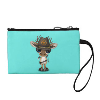 Baby Deer Zombie Hunter Coin Purse