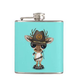 Baby Deer Zombie Hunter Hip Flask