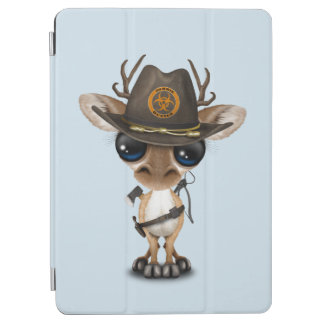 Baby Deer Zombie Hunter iPad Air Cover