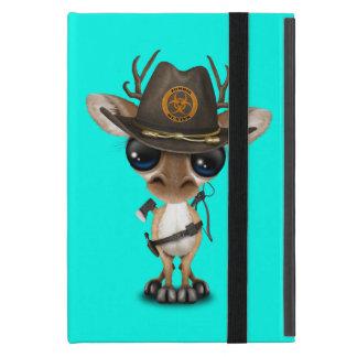 Baby Deer Zombie Hunter iPad Mini Cover