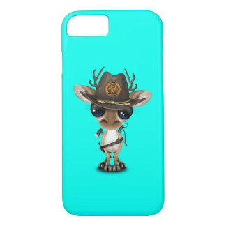 Baby Deer Zombie Hunter iPhone 8/7 Case