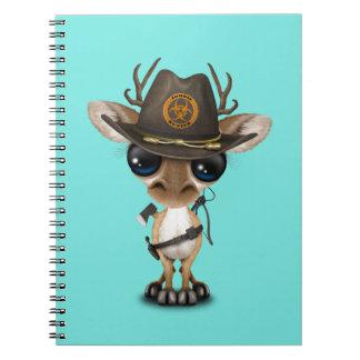 Baby Deer Zombie Hunter Notebooks