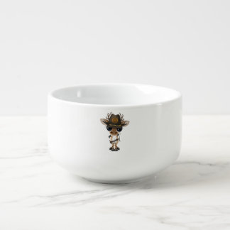 Baby Deer Zombie Hunter Soup Mug