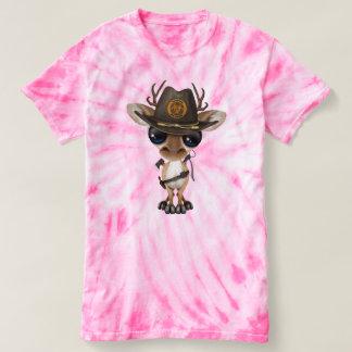 Baby Deer Zombie Hunter T-shirt