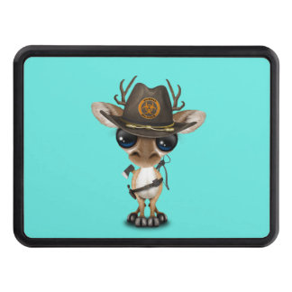 Baby Deer Zombie Hunter Trailer Hitch Cover