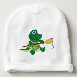 Baby Dino Cotton Beanie Baby Beanie