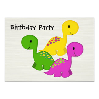 Baby Dino Triplets Card