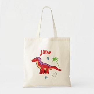 Baby Dinosaur Amargasaurus Tote Bag