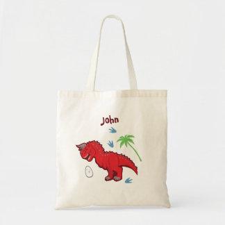 Baby Dinosaur Carnotaurus Tote Bag