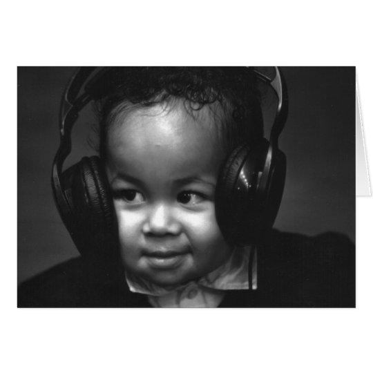 Baby DJ Card