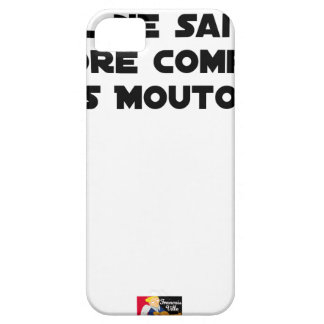 BABY DOES NOT SLEEP BECAUSE IT CANNOT COUNT YET iPhone 5 COVER