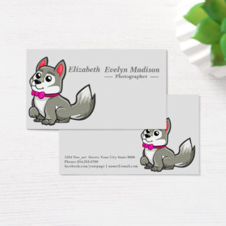 baby dog 321 business card