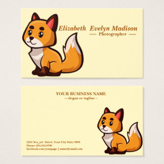 baby dog 350 business card