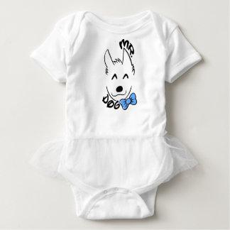 Baby dog baby bodysuit