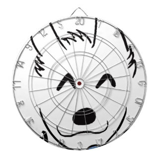 Baby dog dartboard