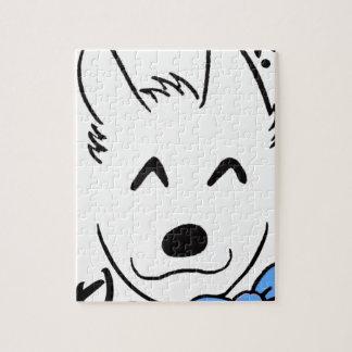 Baby dog jigsaw puzzle
