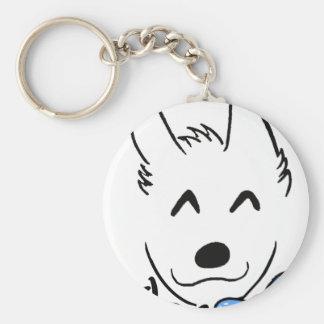 Baby dog keychain