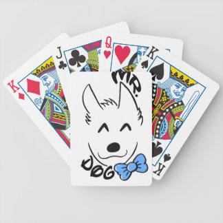 Baby dog poker deck