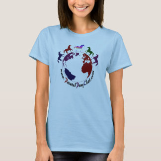 Baby Doll Fitted Painted Pony Chat  tshirt