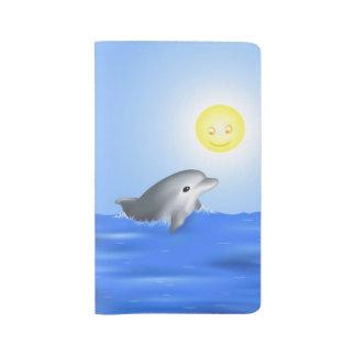 Baby Dolphin Large Moleskine Notebook