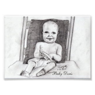 Baby Doris Photo Print