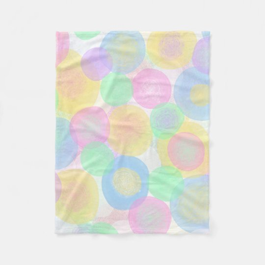 Baby Dots Fleece Blanket