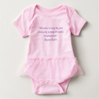 Baby Dress Rustin Quote