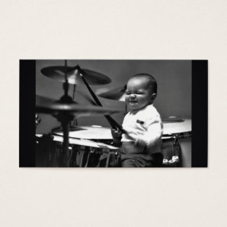 Baby Drummer Business Card