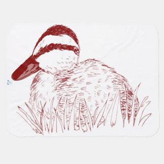 Baby Duck blankie Receiving Blankets