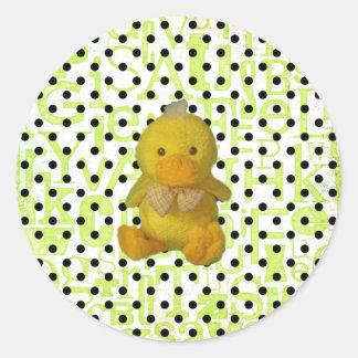 Baby Duckie sticker