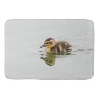 Baby duckling photograph bath mat
