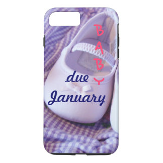 Baby due January iPhone 7 cases Add Due Date