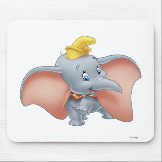 Baby Dumbo walking Mouse Pad