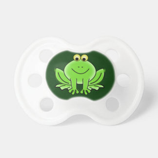 Baby dummy happy frog