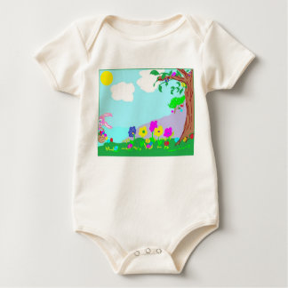Baby Easter t-shirt environmentally friendly