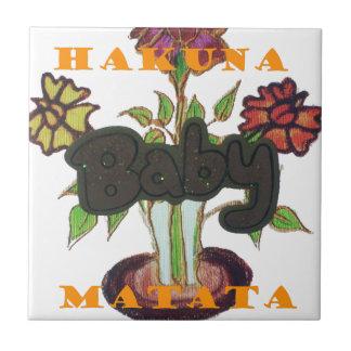 Baby Eco Hakuna Matata gifts Tile
