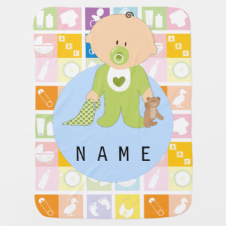 Baby Elements Newborn Baby Fleece Blanket